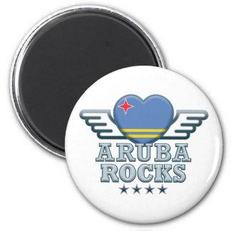 Aruba oscila v2 imán redondo 5 cm