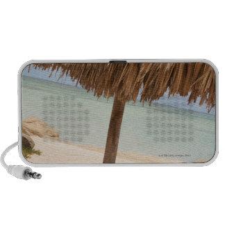 Aruba, palapa en la playa altavoz de viaje