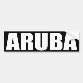 Aruba Pegatina Para Auto