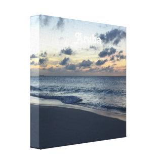 Aruba Perfection Stretched Canvas Prints