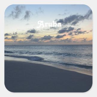 Aruba Perfection Square Sticker