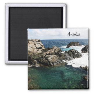 Aruba, piscina natural imán cuadrado