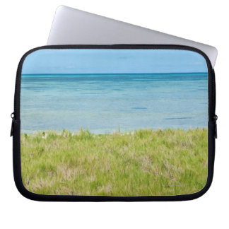 Aruba, playa herbosa y mar mangas computadora