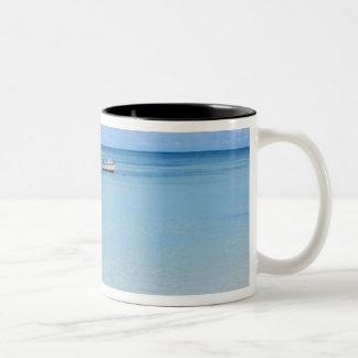 Aruba, playa y mar 2 tazas de café