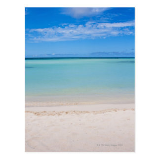 Aruba, playa y mar 3 postales