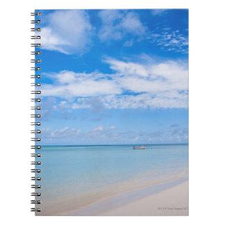 Aruba, playa y mar libros de apuntes