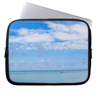 Aruba, playa y mar funda computadora