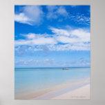 Aruba, playa y mar posters