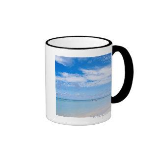Aruba, playa y mar tazas