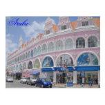 Aruba, postal Oranjestad céntrico, Aruba
