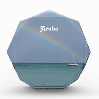 Aruba Rainbow Acrylic Award