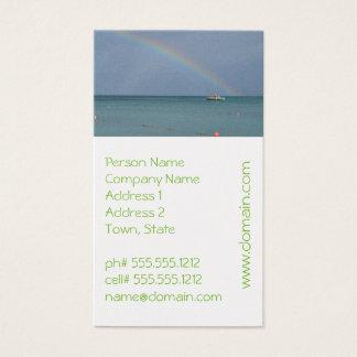 Aruba Rainbow Business Card