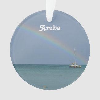 Aruba Rainbow Ornament