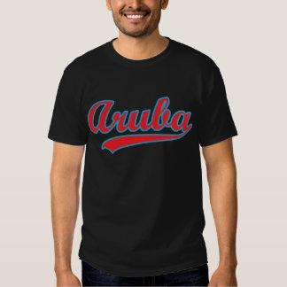 Aruba retro camisas