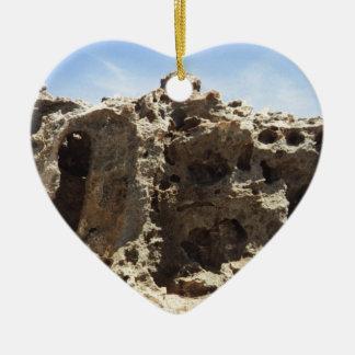 Aruba Rock Formation Ceramic Ornament