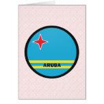 Aruba Roundel quality Flag Cards