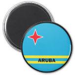 Aruba Roundel quality Flag Magnet