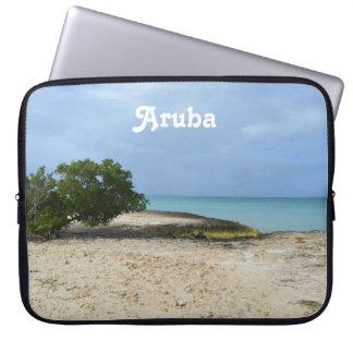Aruba rugoso funda computadora