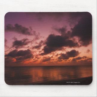 Aruba, sea at sunset mouse pad