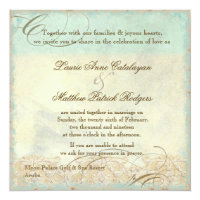 Aruba Sea Turtle Modern Coastal Ocean Beach Invitation
