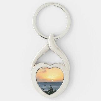 Aruba Setting Sun Keychain