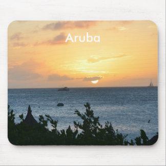 Aruba Setting Sun Mouse Pad