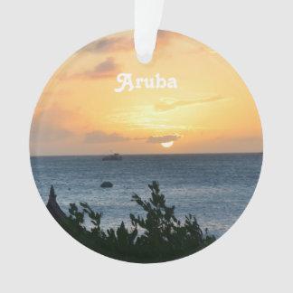 Aruba Setting Sun Ornament