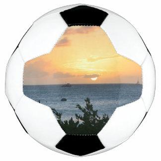 Aruba Setting Sun Soccer Ball