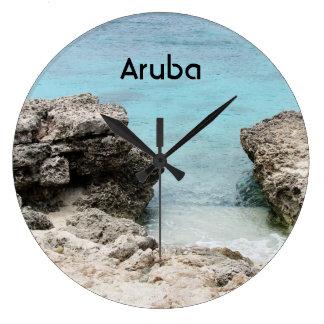 Aruba Shore Large Clock