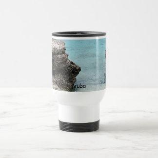 Aruba Shore 15 Oz Stainless Steel Travel Mug