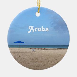 Aruba Solitude Ceramic Ornament
