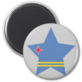 Aruba Star Refrigerator Magnet