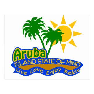 Aruba State of Mind postcard