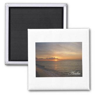 Aruba Sunset 2 Magnet