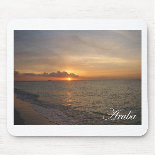 Aruba Sunset 2 Mouse Pad