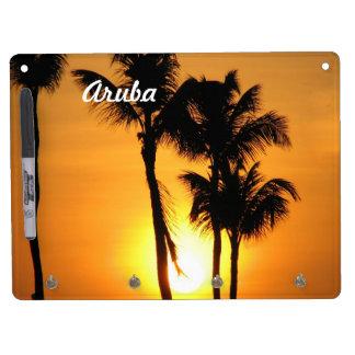 Aruba Sunset Dry Erase Boards