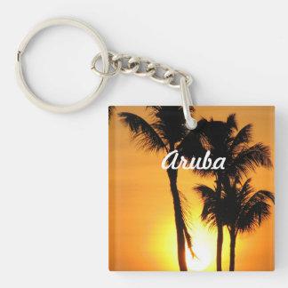 Aruba Sunset Keychain
