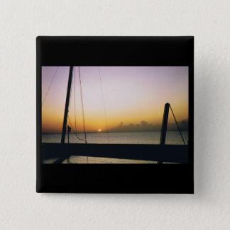 Aruba Sunset Pinback Button