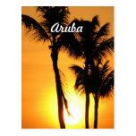 Aruba Sunset Post Cards