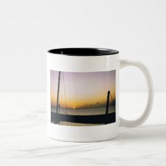 Aruba Sunset Two-Tone Coffee Mug