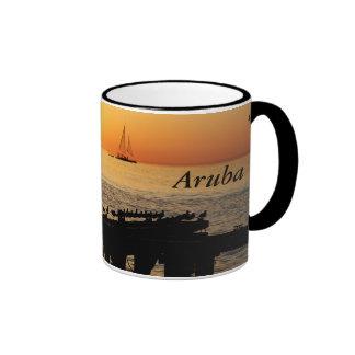 Aruba Taza De Dos Colores