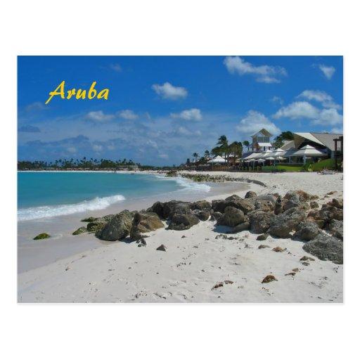 Aruba Vacations Postcard