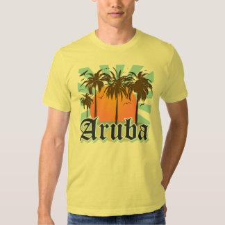 Aruba vara puesta del sol polera