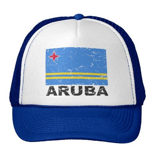 Aruba Vintage Flag Hat