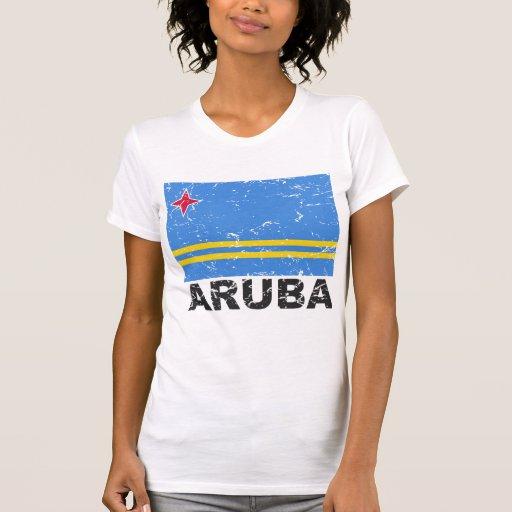 Aruba Vintage Flag T-shirts