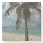 Aruban Beach I Beautiful Nature Scene Stone Beverage Coaster