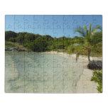 Aruban Beach I Beautiful Nature Scene Jigsaw Puzzle