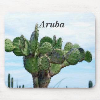Aruban Cactus Mouse Pad