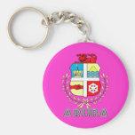 Aruban Emblem Key Chains