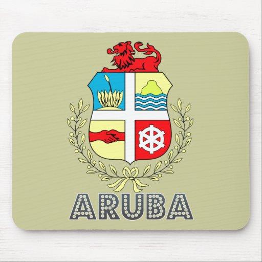 Aruban Emblem Mouse Pad